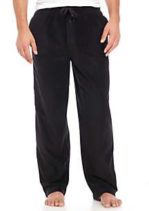 Microfleece Solid Black Pants