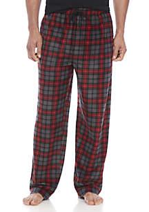 Big & Tall Plaid Sleep Pants