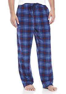 Big & Tall Plaid Sleepwear Pants