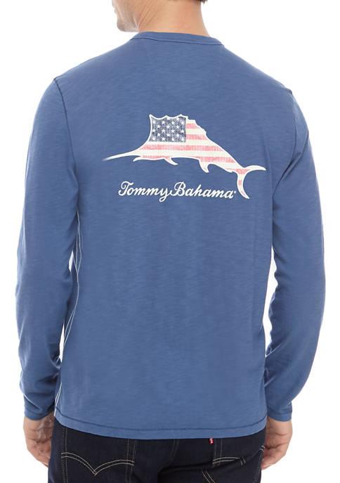 Mens Patriotic Billboard Graphic T-Shirt