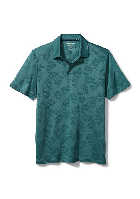 Mens Pineapple Palm Coast IslandZone® Polo Shirt