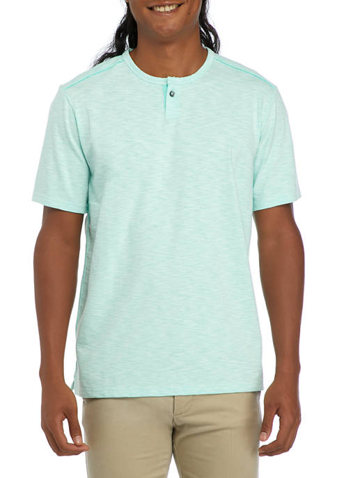 Mens Fray Day Harbor Henley Shirt