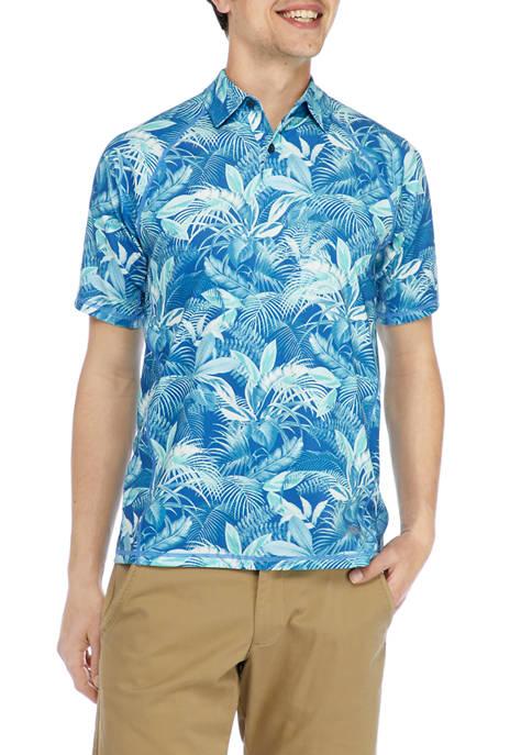 Mens IslandZone® Fuego Palms Polo Shirt