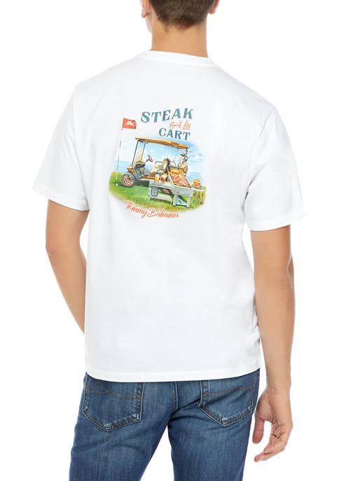 Mens Steak A La Cart T-Shirt