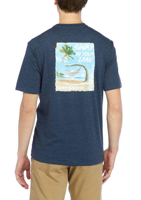 Short Sleeve Sway In Your Lane Graphic T-Shirt