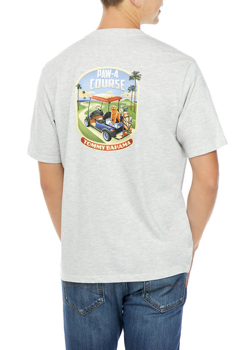 Mens Paw-4 Course T-Shirt