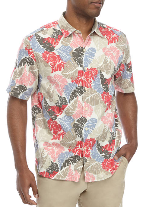 Tommy Bahama® Mens Button Down Shirt
