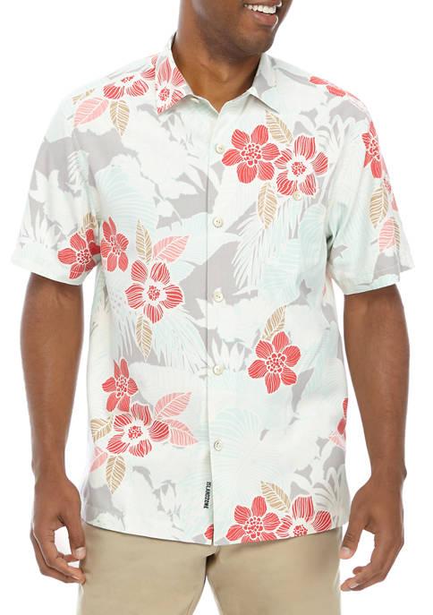 Tommy Bahama® Mens Burma Botanical Button Down Shirt