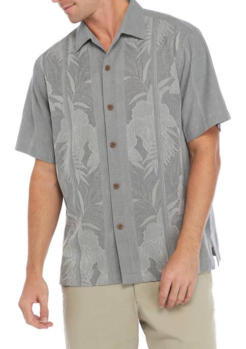 Mens Tahitian Border Camp Shirt