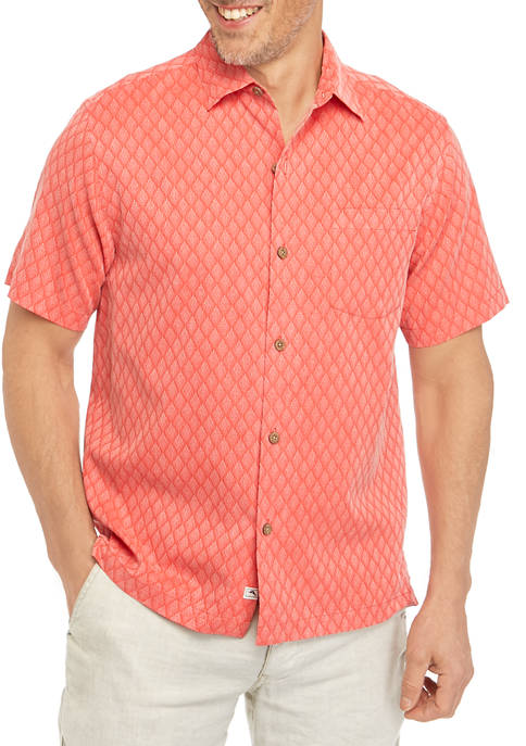 Tommy Bahama® Mens Diamond Cove Button Down Shirt