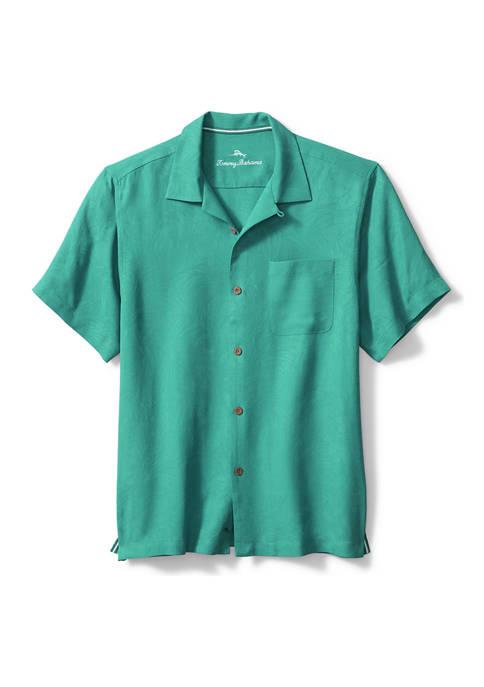 Mens Tropic Isle Camp Shirt