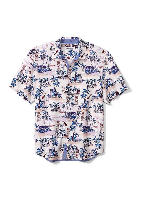 Mens Fiesta Playa Camp Shirt