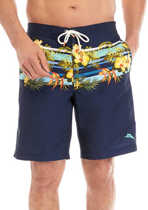 Baja Tropical Swim Trunks