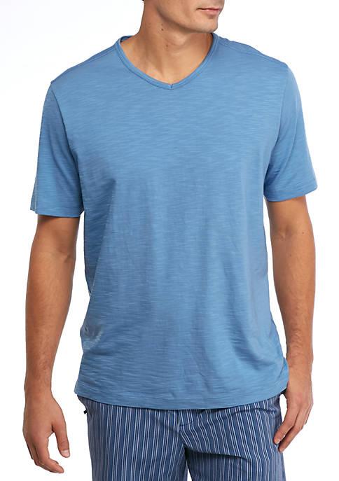Short Sleeve Portside Player V Neck Shirt