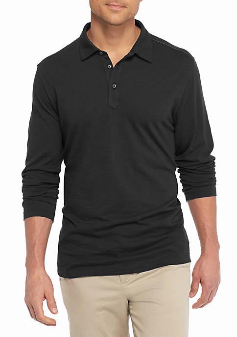 Long Sleeve Portside Player Spectator Polo Shirt