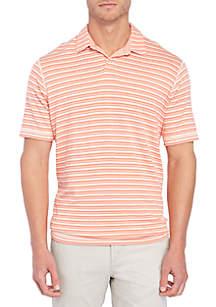 On The Flip Stripe Polo Shirt
