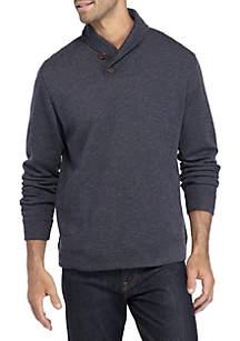 Long Sleeve Sandbar Shawl Collar Pullover