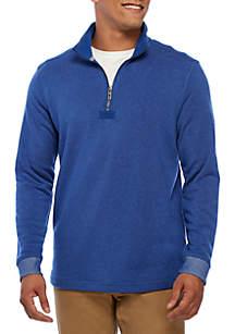 Long Sleeve Cozy Cove Half Zip Pullover