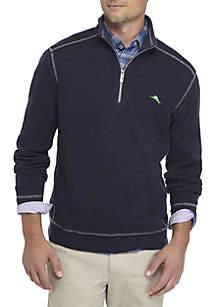 Tobago Bay Long Sleeve 1/2 Zip Shirt