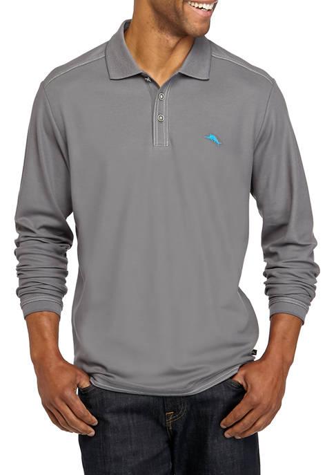 Mens Long Sleeve Emfielder Polo Shirt