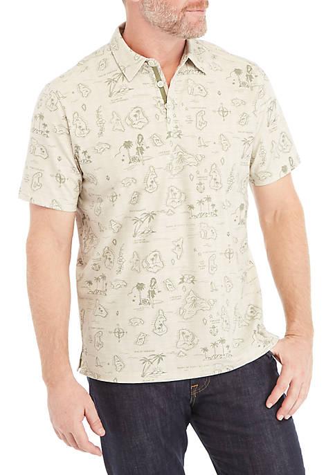 Tahiti Treasure Polo Shirt