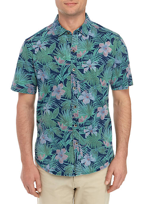 Indigo Jungle Topia Camp Shirt
