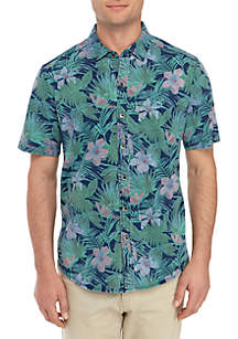 Tommy Bahama® Indigo Jungle Topia Camp Shirt