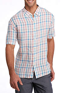 Celestia Plaid Button Down Shirt