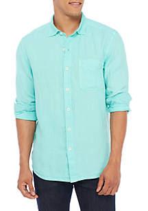 Long Sleeve Seasray Breezer Woven Shirt