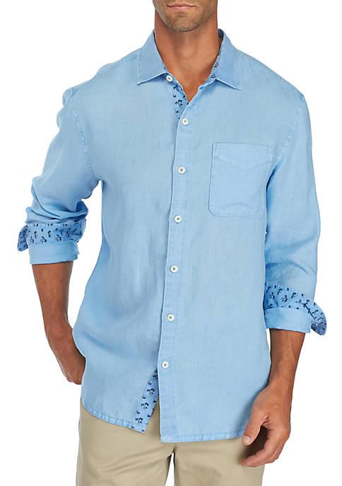 Tommy Bahama® Long Sleeve Seasray Breezer Woven Shirt