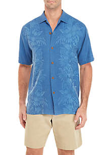 Tommy Bahama® Short Sleeve Kamari Button Front Top