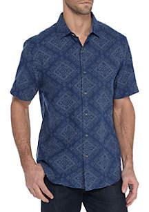 Short Sleeve Geo De Mayo Shirt