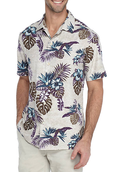 Tommy Bahama® Short Sleeve Casa Rosa Shirt