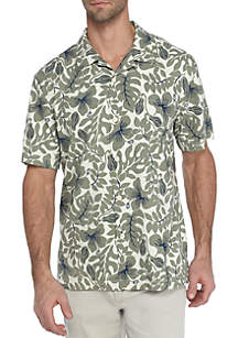 Short Sleeve Island Zone Terra Fronds Shirt