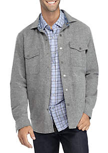 Long Sleeve Montauk Tweed Button Down