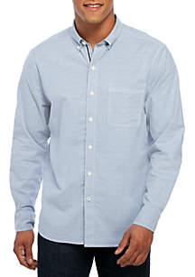 Long Sleeve Oxford Isles Button Down Shirt