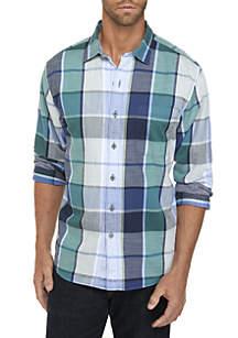 Long Sleeve Heredia Plaid Shirt