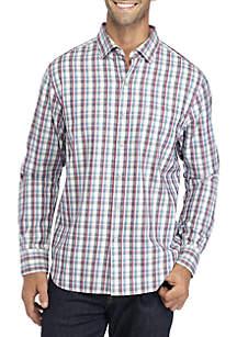 Long Sleeve Palmer Plaid Button Down Shirt