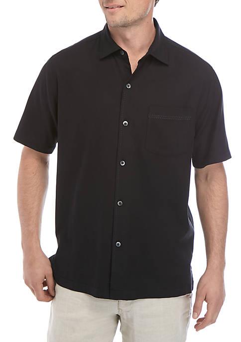 Tommy Bahama® Catalina Stretch Twill Camp Shirt