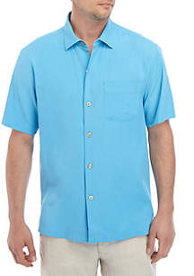 Tommy Bahama® Catalina Stretch Twill Camp Shirt