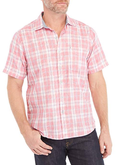 Tommy Bahama® Hidden Flora Short Sleeve Button Down