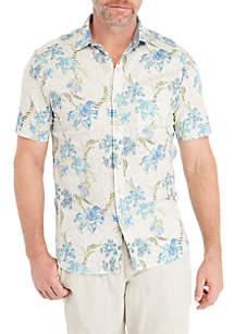 Tahitian Flower Short Sleeve Shirt