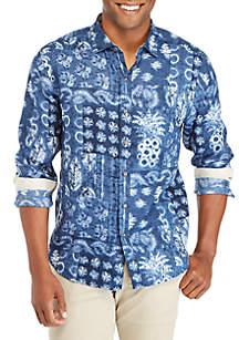 Tommy Bahama® Pina Shibori Button Down Shirt