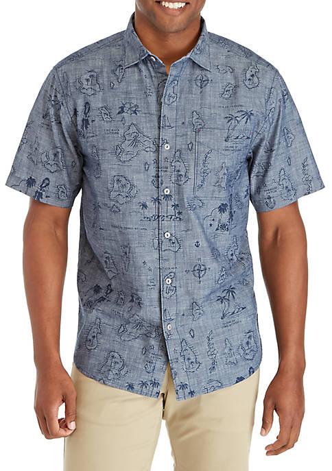 Tahiti Treasure Button Down Shirt
