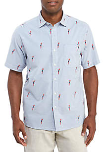 Tommy Bahama® Parrot Mamba Short Sleeve Shirt