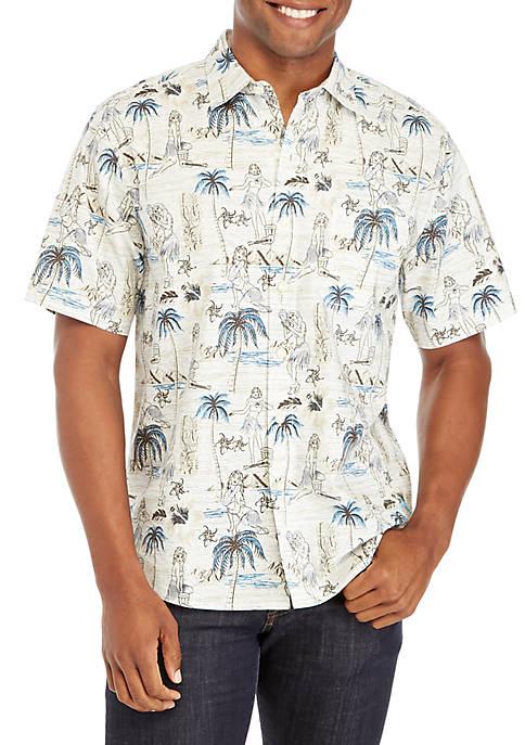 Tommy Bahama® Hula Isles Button Down Shirt