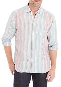 Vairo Striped Button Down Shirt