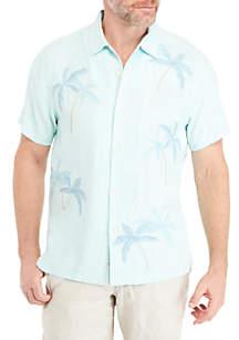 Scattered Palms Short Sleeve Shirt