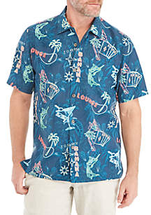 Tommy Bahama® This Is How I Roll Short Sleeve Shirt