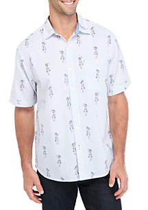 Tommy Bahama® Hula Dot Com Short Sleeve Button Down Shirt